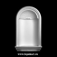 1.61.102+1.61.120 комплект Ниша Европласт с подсветкой