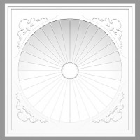 Купол Fabello Decor DM3501