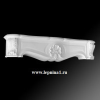 Камин в сборе Европласт 1.64.001+1.64.002+1.64.003