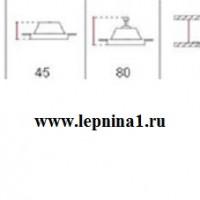 Светильник точечный гипсовый Декоратор VS-007