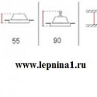 VS-009 Светильник точечный гипсовый Декоратор