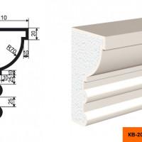 Карниз Lepninaplast КВ-200/2