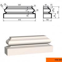 Пилястра Lepninaplast  ПЛВ-300/6 (база)