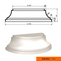 Полуколонна база Lepninaplast  КЛВ-205/4