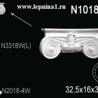 N1018-2W Капитель колонны Perfect на R18 см