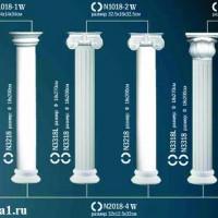 Капитель колонны Perfect на R18 см N1018-2W