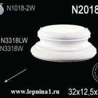 N2018-4W База колонны Perfect на R18 см