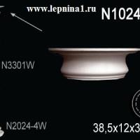 N1024-1W Капитель колонны Perfect на R24 см