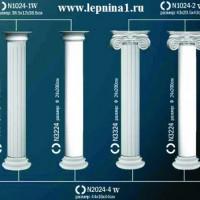 Капитель колонны Perfect на R24 см N1024-1W