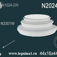 N2024-4W База колонны Perfect на R24 см