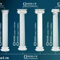 Капитель колонны Perfect на E30 см N1030-1W