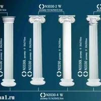Капитель колонны Perfect на R30  N1030-2W