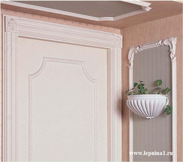 Квадрат Обрамление дверных проемов Европласт 1.54.002
