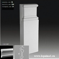 База Обрамление дверных проемов Европласт 1.54.010