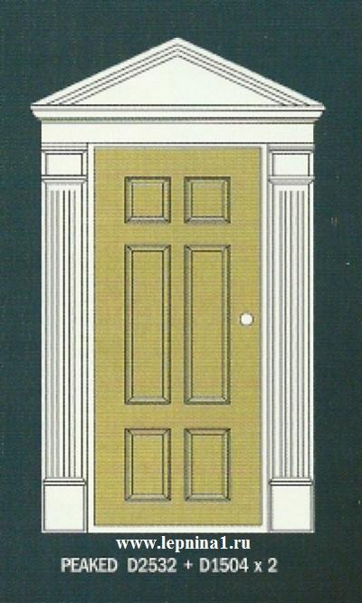 Пилястра к обрамлению дверного проема Perfect D1504