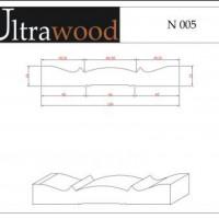 Наличник Ultrawood N 005