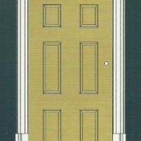 D2512 Наличник к обрамлению дверного проема Perfect