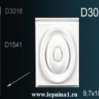 D3016 Квадрат к обрамлению дверного проема Perfect