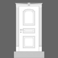 Обрамление двери Orac Decor D320