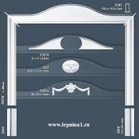 Обрамление двери Orac Decor P9010
