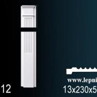 D1512+D1512-1 Пилястра цельная с базой Perfect