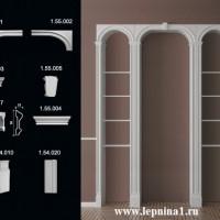 Лев.Обрамление арок Европласт 1.55.001