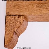 Декоративная балка Уникс Б2 дуб 3м
