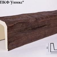 Декоративная балка Уникс Б2 дуб