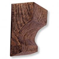 Декоративная балка Уникс СС1 темный дуб 3м