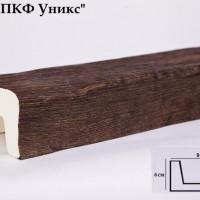 Декоративная балка Уникс Б1 дуб