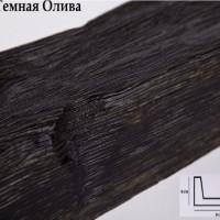 Декоративная балка 3 метра Уникс Б1 темная олива