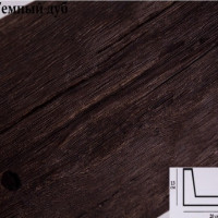 Декоративная балка Уникс Б3 темный дуб