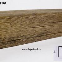 Декоративная балка Уникс М12 олива