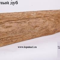 Декоративная балка Уникс Р2 светлый дуб
