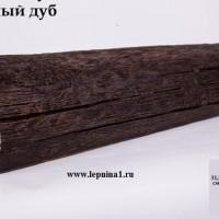 Декоративная балка Уникс Р2 темный дуб