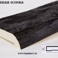 Декоративная доска Уникс Д20 темная олива