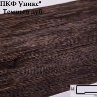 Декоративная доска Уникс ДСС19 темный дуб