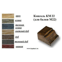 Консоль КМ22 окрашенная в цвет балок