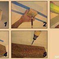 Декоративная балка 3 метра Уникс М11 орех