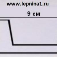 Декоративная балка Уникс Б1 белая 2м