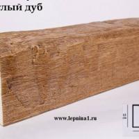 Декоративная балка Уникс Б2 светлый дуб 2м
