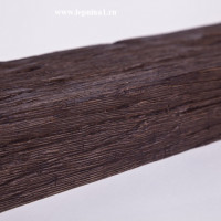 Декоративная балка Уникс Б1 темный дуб 2м