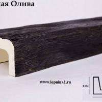 Декоративная балка Уникс Б1 темная олива 2м