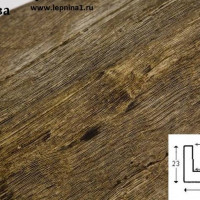 Декоративная балка Уникс Б4 олива 2м