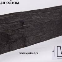 Декоративная балка Уникс Б3 темная олива 2м