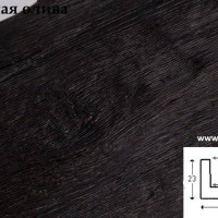Декоративная балка Уникс Б4 темная олива 2м