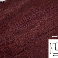 Декоративная балка Уникс Б4 вишня 2м