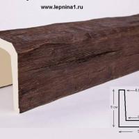 Декоративная балка Уникс Б9 дуб 2м