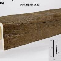 Декоративная балка Уникс Б9 олива 2м