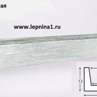 Декоративная балка Уникс М11 белая 2м